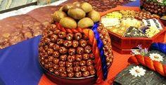 Korean traditional wedding - the food