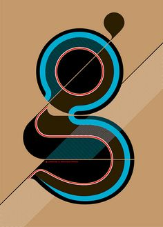 Typography :: Letter G - Ogaki by Mil3n on Flickr