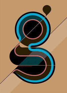 Typography :: Letter G - Ogaki by Mil3n on Flickr