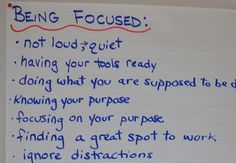 awesome anchor charts on being in charge of own learning