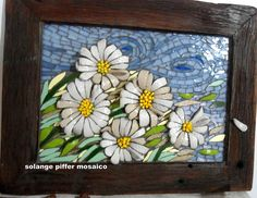 Mosaic Art- Picture of Daisies | Flickr - Photo Sharing!