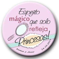 Espejo chapa Princesas 2.00