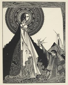 Ligeia by Harry Clarke - British Library Prints