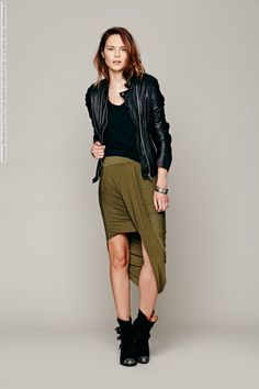 Anastasia Khodkina for Free People fashion lookbook (July 2013) photo shoot