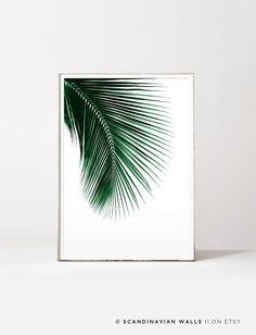 Palm leaf, palm print, palm leaf print, leaf print, palm tree, botanical print, tropical poster, botanical art, tropical leaf, tropical art by ScandinavianWalls on Etsy https://www.etsy.com/uk/listing/472690929/palm-leaf-palm-print-palm-leaf-print