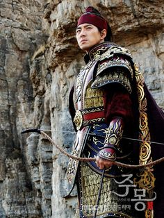 Portayal of the life of King Jumong. The king of kings. Died way too early.... had soooo much to do and no time to do it. ..