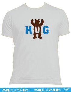 Bear Hug t-shirt Male, Female & kids all sizes &colour the 2 bears cute gay fun