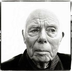 Jean Renoir, 1972. Richard Avedon