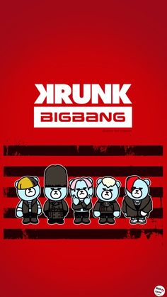 Krunk Bigbang, Art Pictures, Fanart, Kpop, Bear, Art Images, Fan Art, Bears, Beauty Shots