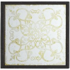 Silver Etched Wall Decor | Pier 1 Imports  49.50  For the mother suite art in the bathroom?