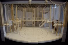 Step Inside The World Of 'Hamilton,' A Spectacular Stage You Might Never See Set Design Theatre, Stage Design, Moving To Chicago, Theatre Stage, Theater, Brick And Wood, Stage Set, Scenic Design, Painted Floors