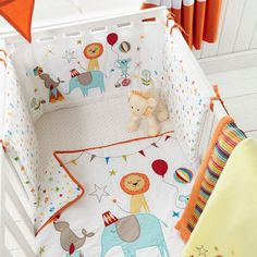 From bluezoo's fantastic range, roll up for lots of fun at bedtimes with this bed in a bag. In white, it features an exciting array of circus scenes including elephants and lions performing amazing feats!
