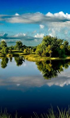 Nature - landscape:  This landscape is simply beautiful to inspire anybody to appreciate the wonders of nature.  I love the reflection effect on this picture.