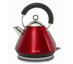 Buy MORPHY RICHARDS 43772 Pyramid Accents Cordless Kettle - Translucent Red | Free Delivery | Currys