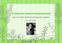 6 zásad pre správne kompostovanie Cover, Frame, Books, Picture Frame, Libros, Book, Frames, Book Illustrations, Libri