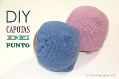 Knit Baby DIY: How to knit top with two needles Knitting For Kids, Baby Knitting Patterns, Baby Patterns, Knitting Projects, Crochet Baby Hats, Knitted Hats, Crochet Bebe, Tricot Baby, Baby Candy