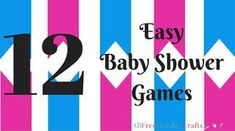 Baby shower game printables and a virtual baby shower easy baby how to host a baby shower diy baby shower gifts allfreeholidaycrafts solutioingenieria Gallery