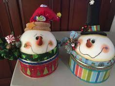 Result of icopor cone image - DIY Christmas Cookies Christmas Clay, Christmas Snowman, Rustic Christmas, Christmas Projects, Christmas Holidays, Christmas Ornaments, Decorating With Christmas Lights, Christmas Decorations, Christmas Gift Wrapping