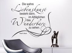 Wandtattoo Die wahre Lebenskunst Wandtattoo Pearl S. Buck Wandtattoos Zitate Source by The post Wand Wall Stickers, Wall Decals, Sticker Mural, Wall Art, Wall Quotes, Life Quotes, Silver Spray Paint, Kitchen Ornaments, Home Grown Vegetables