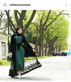 Hijab Style Dress, Modest Fashion Hijab, Abaya Fashion, Fashion Dresses, Abaya Style, Iranian Women Fashion, Islamic Fashion, Muslim Fashion, Mode Kimono