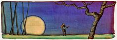 GC Myers, 1959 ~ Stylized Symbolic Landscapes   Tutt'Art ...