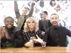Pentatonix - YouNow 10/22/15 | CSL, Misbehavin' & Cracked - YouTube
