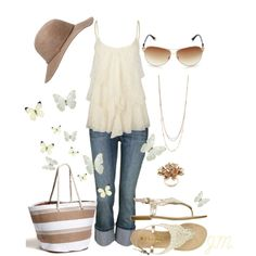 Summer Lace, created by jenniemitchell on Polyvore