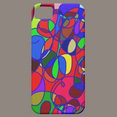 Abstract. iphone 5 cases.  By ccrcats.