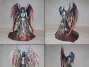 League of Legends - Morgana the Fallen Angel Free Papercraft Download
