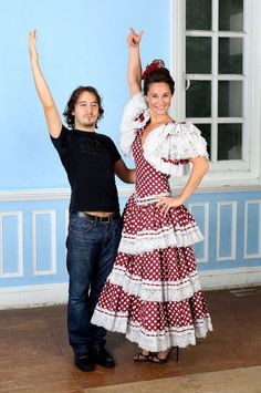 Pippa recreates the flamenco dance she performed at her 30th   birthday, with teacher Jesus Olmedo