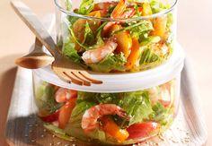 Salade de crevettes et d'abricotsVoir la recette de la Salade de crevettes et d'abricots >>