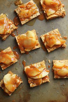 Butterscotch Apple Bars | Grandbaby Cakes