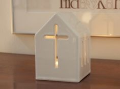 Lantern & Cross 3d printed Lantern & Cross