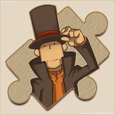 Puzzled Professor by zillabean on deviantART