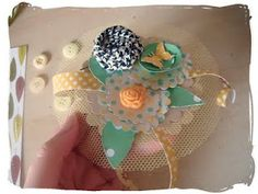 To celebrate in style every party needs hats but why not put your kit leftovers to good use and have a go at making these fun party paper fa. Party Needs, Fascinators, Leo, Craft Projects, Paper Crafts, Spring, Flowers, How To Make, Tissue Paper Crafts