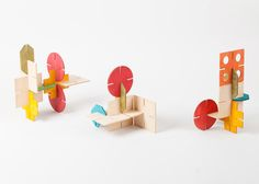 Like the midcentury modern furniture designs we know and love, these toys also relish in simplicity and efficiency.