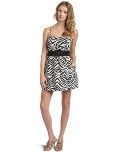 Jessica Simpson Women's Zebra Print Dress with Pockets - http://ocdinvestments.com/jessica-simpson-womens-zebra-print-dress-with-pockets/