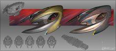 Based on a panther's skull, the Ferasan Slithus was designed for escort type support. Star Trek Online, Concept Ships, Concept Art, Aliens, Star Blazers, Sci Fi Ships, Star Wars, Interstellar, Futuristic