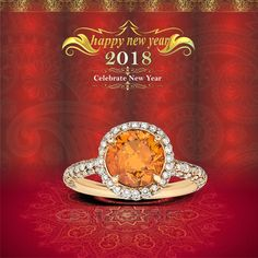 An amazing duo to rock-up your evenings- The luster of Citrine and Shine of Diamonds! Shop it at KAPISH JEWELS   #HappyNewYear #KapishJewels #JewelleryCollection #JewelleryCollection2018 #Diamond #Gold #KapishJewelsBareilly