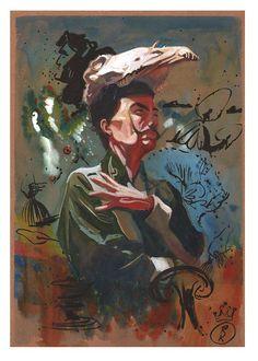 Salvador Dali by Roni Kane