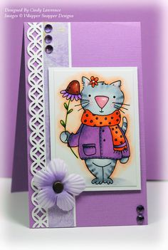 Whipper Snapper Designs Boop the Kitty stamp