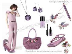 En lila, el color de moda de este verano.