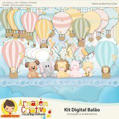 Kit digital Balão - Armazém Criativo