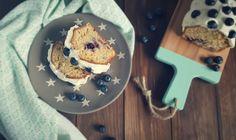 Blaubeer-Frischkäse-Kuchen