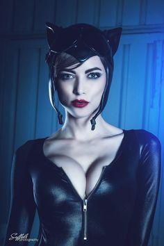 "hottestcosplaygirls: "" Catwoman Cosplayer: VAMPTRESS LeeAnna Vamp Photographer: Saffels Photography """