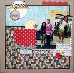Friends off to School - Scrapbook.com