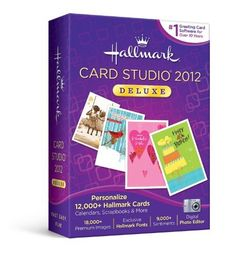 Hallmark Card Studio Deluxe 2012 by Nova Development US, http://www.amazon.com/dp/B005FNVINU/ref=cm_sw_r_pi_dp_3MJ2pb0Q60Y8B