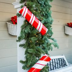 Home and Family 9064 Final Photo Assets Christmas Stockings, Christmas Wreaths, Christmas Crafts, Christmas Decorations, Xmas, Holiday Decor, Home And Family Crafts, Home And Family Tv, Diy Light