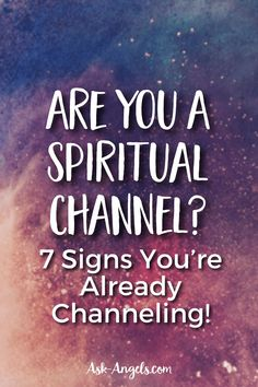 While channeling sounds mystical and esoteric, and it certainly can be both of those… many people have opened to channel without even realizing it!  #channeling #Psychicdevelopment Spiritual Meaning, Spiritual Power, Spiritual Guidance, Spiritual Growth, Psychic Abilities Test, Message Of Encouragement, Out Of Body, Psychic Development, Stream Of Consciousness