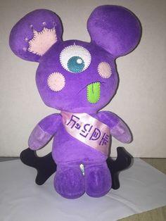 Disney Mickey Monsters Purple Monster Stuffed Animal #Disney
